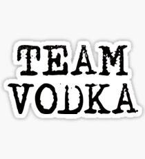 Team Vodka Sticker