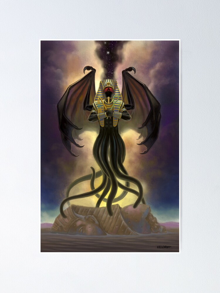 Alternate view of Nyarlathotep, The Crawling Chaos Poster