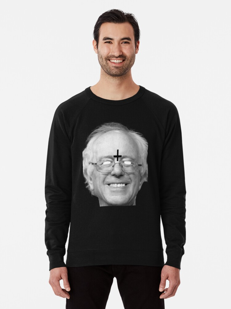 'Bernie Sanders 666 Merch' Lightweight Sweatshirt by titanat30