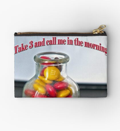 Take 3 and Call me in the Morning Studio Pouch