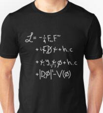 """Camiseta ajustada Universo Lagrangiano. """"w"""""""