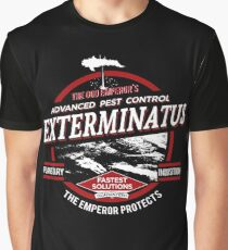 Exterminatus - Advanced pest control Graphic T-Shirt
