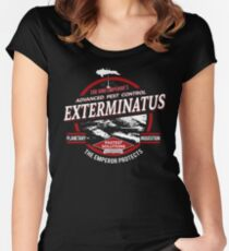 Exterminatus - Advanced pest control Fitted Scoop T-Shirt