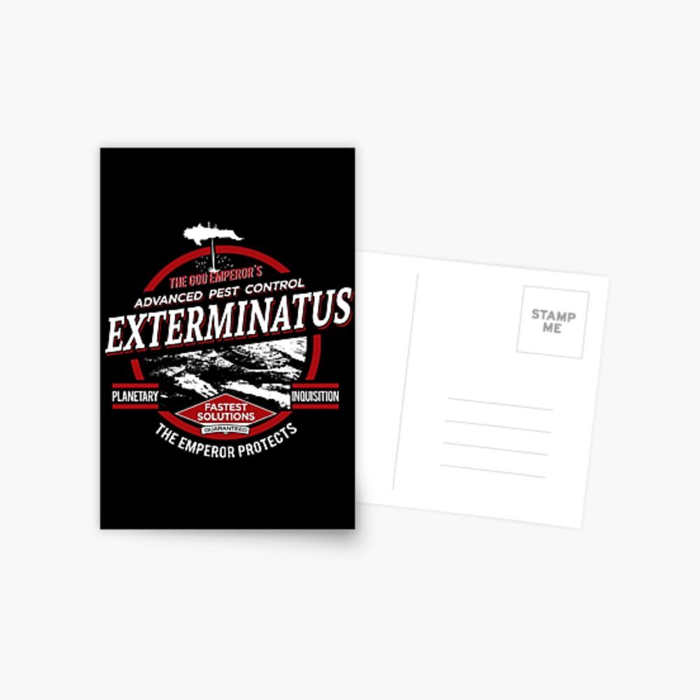 Exterminatus - Advanced pest control Postcard