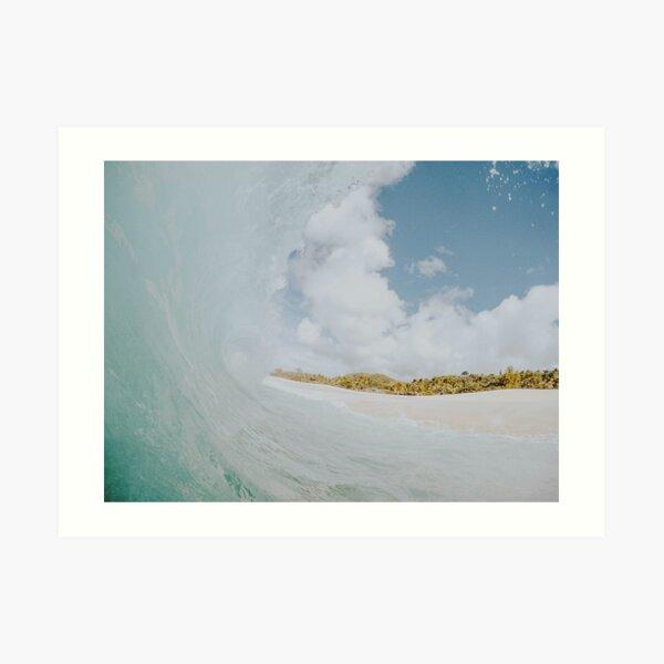 ocean waves ii Art Print