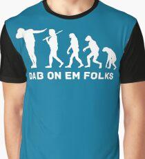 Dab evolution white Graphic T-Shirt