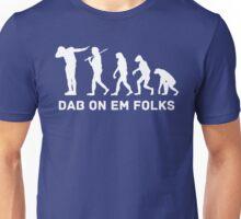Dab evolution white Unisex T-Shirt