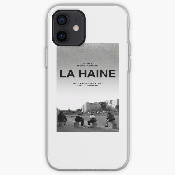 La Haine Poster Film Movie Coque souple iPhone