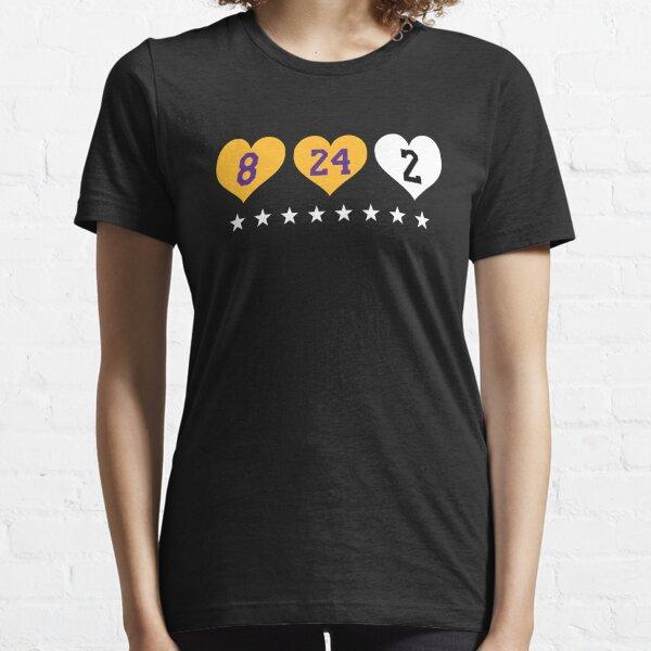 Kobe Bryant x Gianna Bryant 8 24 2 Amour T-shirt essentiel
