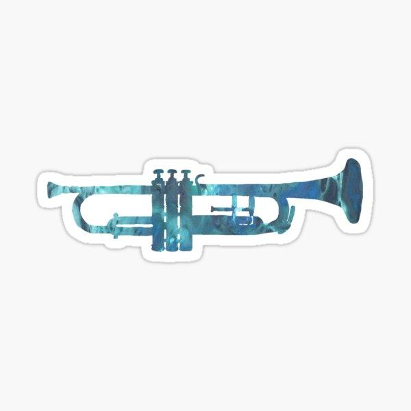 Trompete Sticker