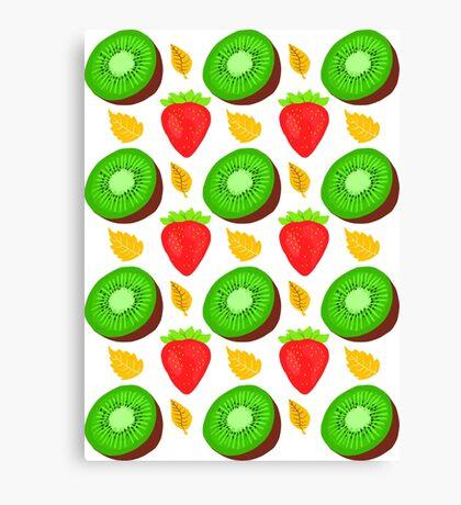 Strawberry Kiwi Canvas Print