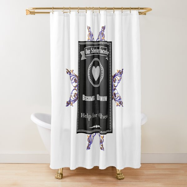 Hopeful Of Success Shower Curtains Redbubble