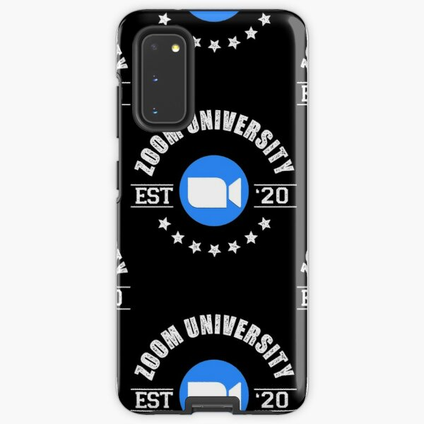 Zoom University - Remote Working Samsung Galaxy Tough Case