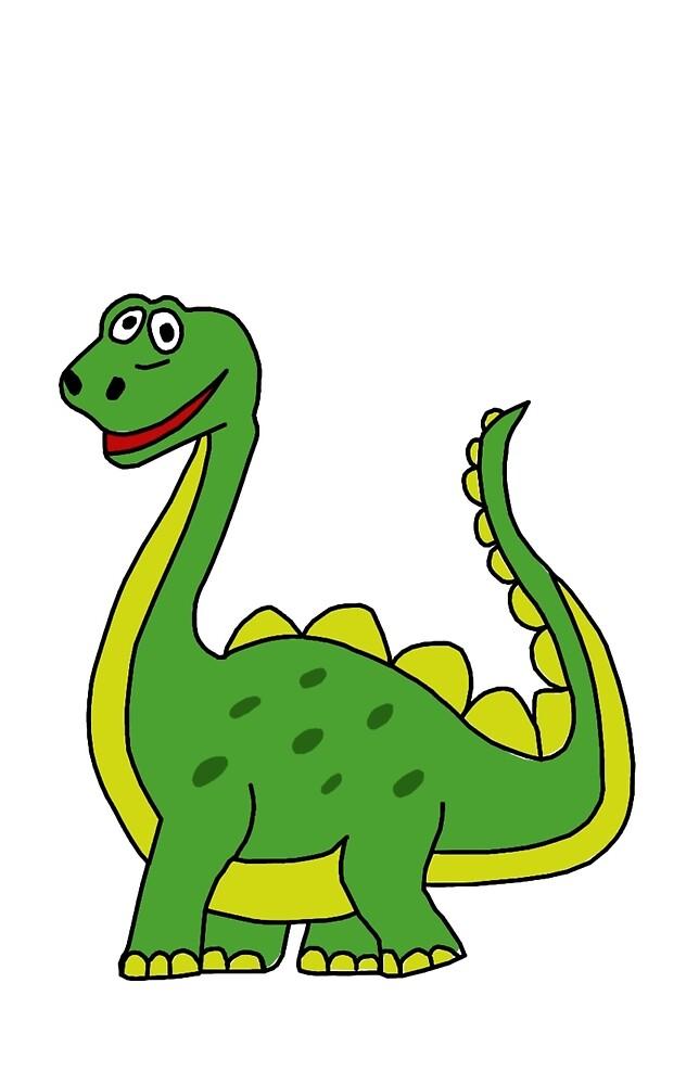 Happy Dinosaur  by jhguitars