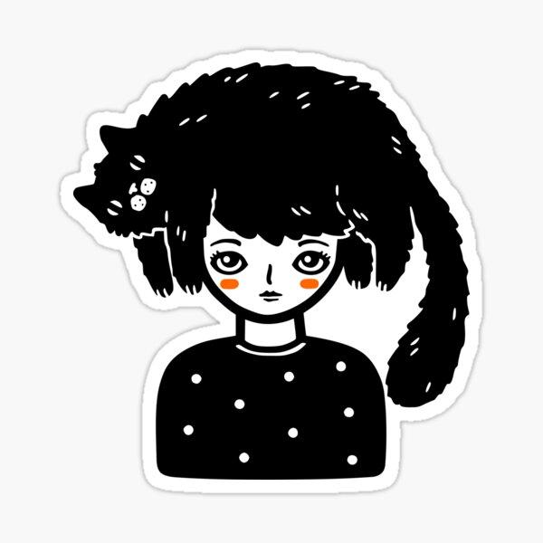 Cat Hair Sticker