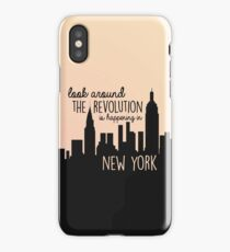 Revolution in NYC iPhone Case