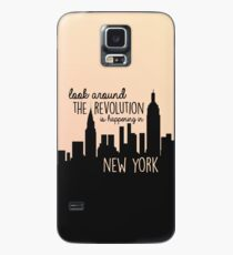 Revolution in NYC Case/Skin for Samsung Galaxy