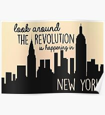 Revolution in NYC Poster