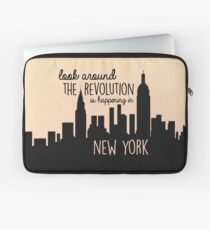 Revolution in NYC Laptop Sleeve
