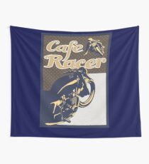 Cafe Racer retro style Wall Tapestry