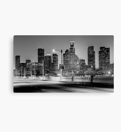 Downtown Los Angeles Canvas Print