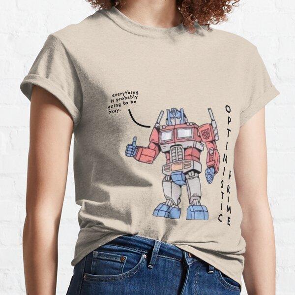 Optimistic Prime Classic T-Shirt