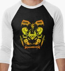 Ghouls, Ghosts, Gems & Daggers (GOLD) Men's Baseball ¾ T-Shirt
