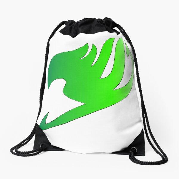 Fairy Tail Green fade symbol Drawstring Bag
