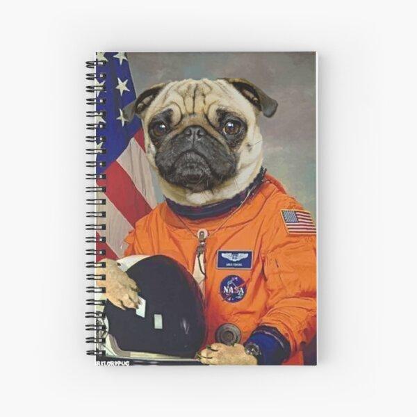 Astropug Spiral Notebook