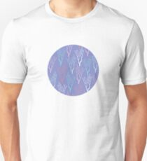 Ocean Branches in Purple Seas T-Shirt