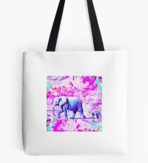 Melting Elephants  Tote Bag