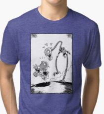 From Above® comic Tri-blend T-Shirt