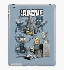 From Above Comic iPad Case/Skin
