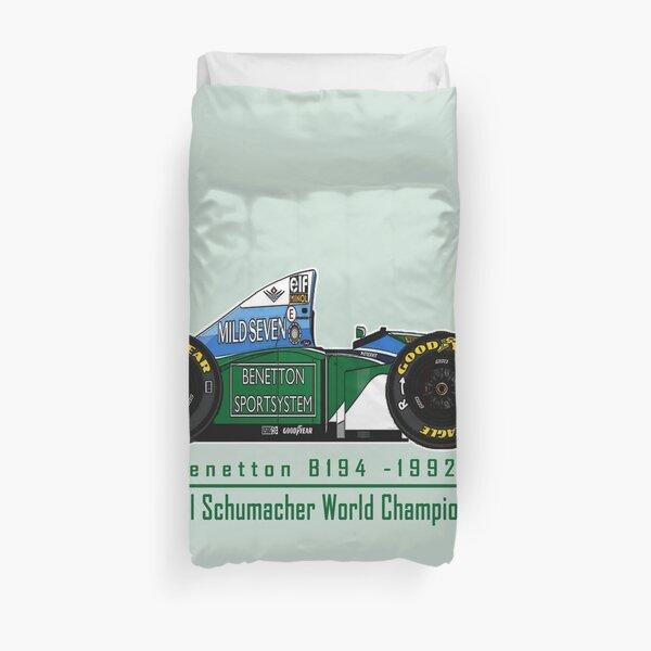 Schumacher Benetton F1  Funda nórdica