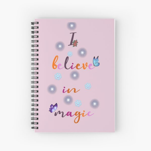 I believe in Magic (Christmas) Spiral Notebook