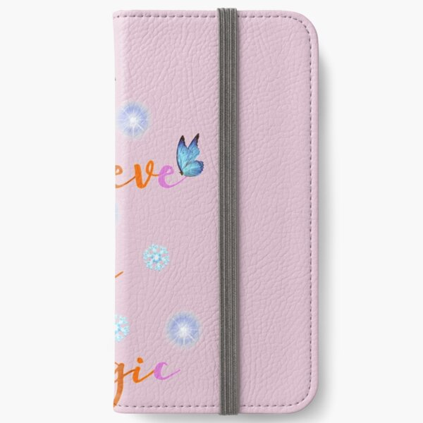 I believe in Magic (Christmas) iPhone Wallet