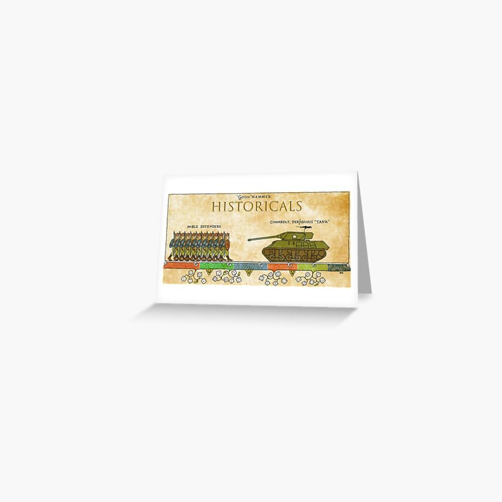Goonhammer HISTORICALS Greeting Card