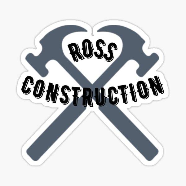 Ross Construction Sticker