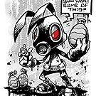 RvB - Not you average easter bunny by Craig Bruyn