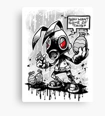 RvB - Not you average easter bunny Canvas Print