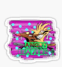 Angry Beavers Sticker