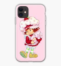 Strawberry Shortcake & Custard iPhone Case