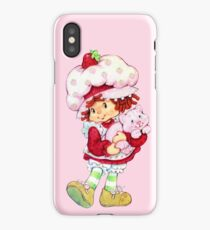 Strawberry Shortcake & Custard iPhone Case