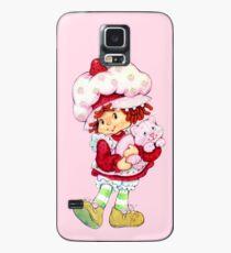 Strawberry Shortcake & Custard Case/Skin for Samsung Galaxy