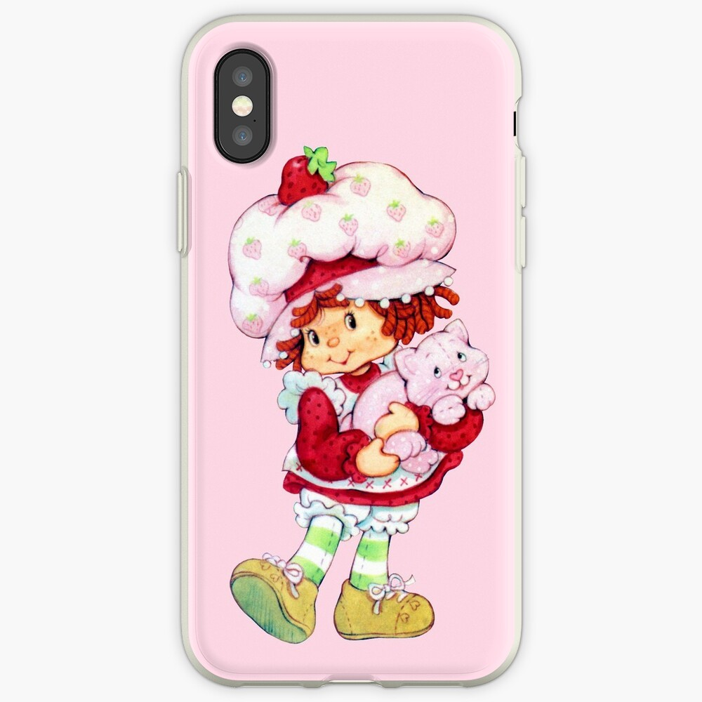 Tarta de fresas y natillas Funda y vinilo para iPhone