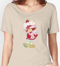 Strawberry Shortcake & Custard Women's Relaxed Fit T-Shirt