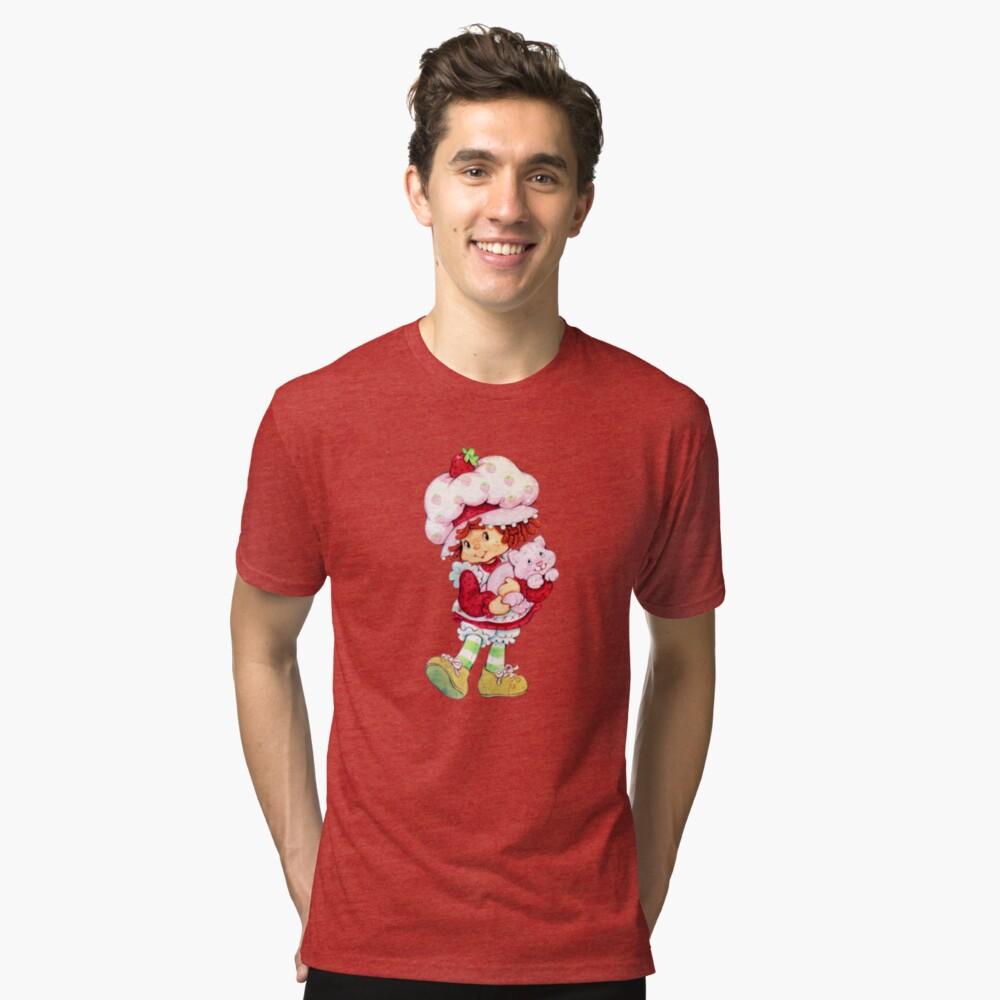 Erdbeer Shortcake & Vanillepudding Vintage T-Shirt