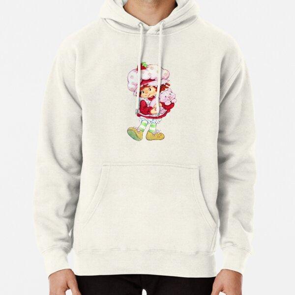 Strawberry Shortcake & Custard Pullover Hoodie