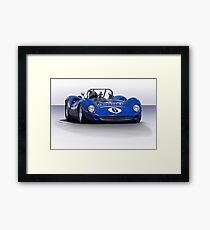 1966 Lola T70 MKII Vintage Racecar Framed Print