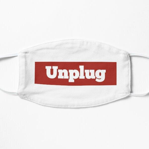 Funny Supr-Unplug me t-shirts Flat Mask